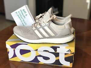 46cf3baf76c374 Details about Adidas Ultra Boost 1.0 Light Tan Cream Chalk OG   AQ5559    Size 13