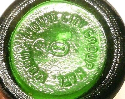 """vintage ACL Soda POP Bottle 7 OZ /""""DIMPLED/"""" SPRITE salutes ZION  NAT PARK"""