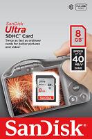 SanDisk Ultra - (SDSDUN-008G-G46) Memory Cards