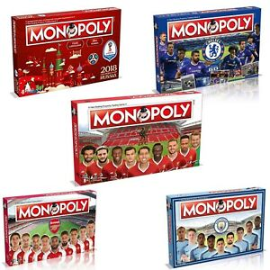 727c2669d0b3 Image is loading Monopoly-Board-Game-Football-Editions-Premier-League-amp-