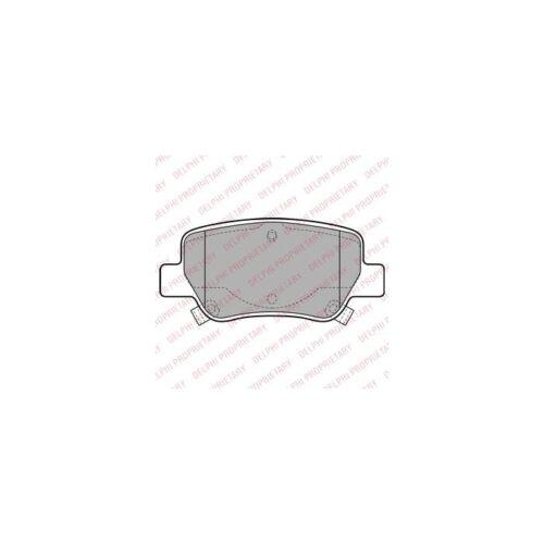 Scheibenbremse  Hinten für Toyota Avensis Stufenheck DELPHI Bremsbelagsatz