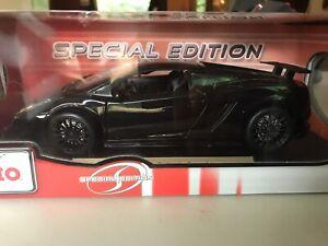 Maisto-Lamborghini-Superleggera-Gallardo-Negro-1-18-Edicion-Especial-Nuevo-Y-En-Caja-Nuevo