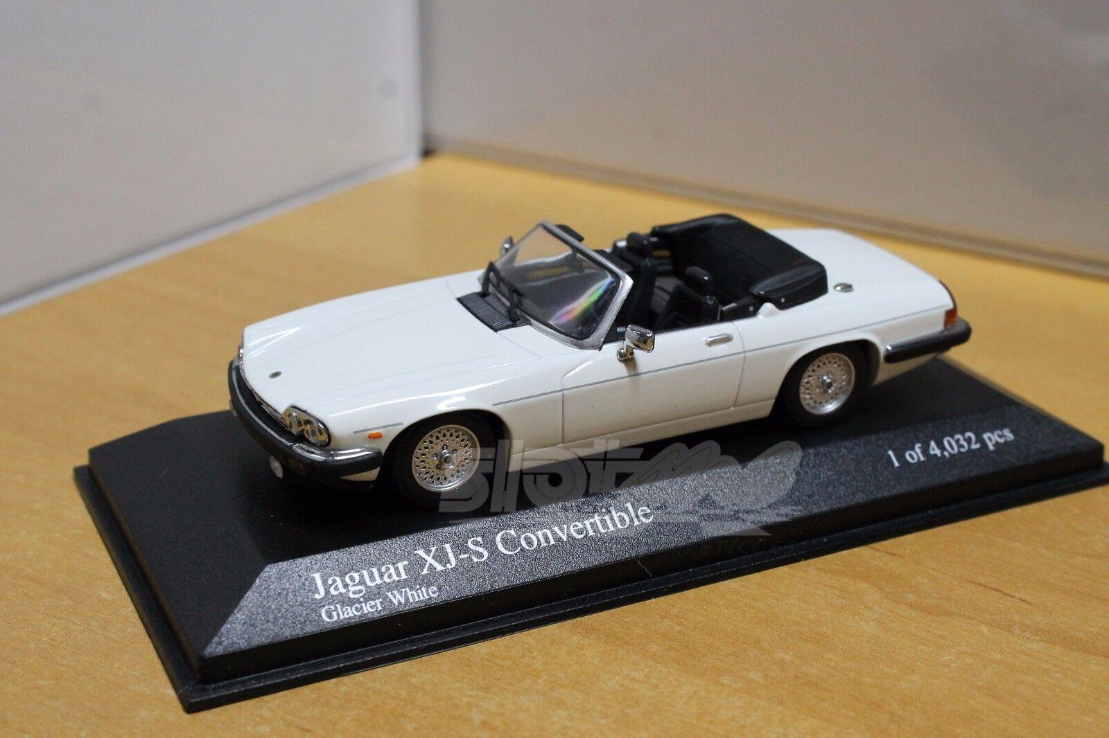 diseño simple y generoso Minichamps 400130430 400130430 400130430 Jaguar XJ-S Converdeible 1988 blancoo 1 43  NEW  mejor precio