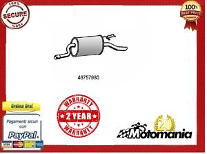 3505268-SILENZIATORE-TERMINALE-SCARICO-MARMITTA-FIAT-PUNTO-188-cc-1200-DAL-1999