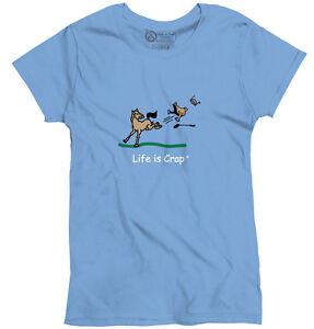Life is crap horse buck good life funny shirts gift ideas for Good t shirts brands