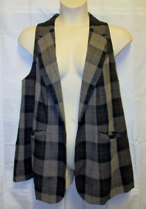 18 Lane Nwt Plaid Marrone Icon Carriera 2x anca Steampunk Bryant Vest 1 bottone rXFq1xXd
