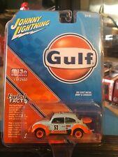 1970 VW Beetle Rally-Gulf racing #53 *** Johnny Lightning mijo 1:64 rar
