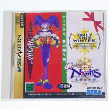 "SEGA SATURN "" Christmas Nights NOT FOR SALE "" Japan Import SS RARE !!"