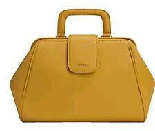 Matt and Nat Simone Loom Doctor Bag Mustard purse handbag cross body nwot!