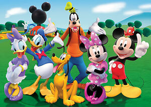Amazing Image Is Loading MICKEY MOUSE CLUBHOUSE WALL ART ONE PIECE POSTER