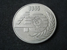 Yugoslavia medal, 40 years of Partizan football club, 1945 - 1985; soccer, sport