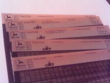 John Deere Parts Catalog 8570 8770 8870 8970 Tractor Microfiche Fiche Manual