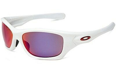 c86682fd98 Oakley Pit Bull POLARIZED Sunglasses Matte White OO Red Iridium Asian