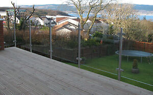 Great Image Is Loading Stainless Steel Patio Glass Balustrade Garden Fencing  Balcony