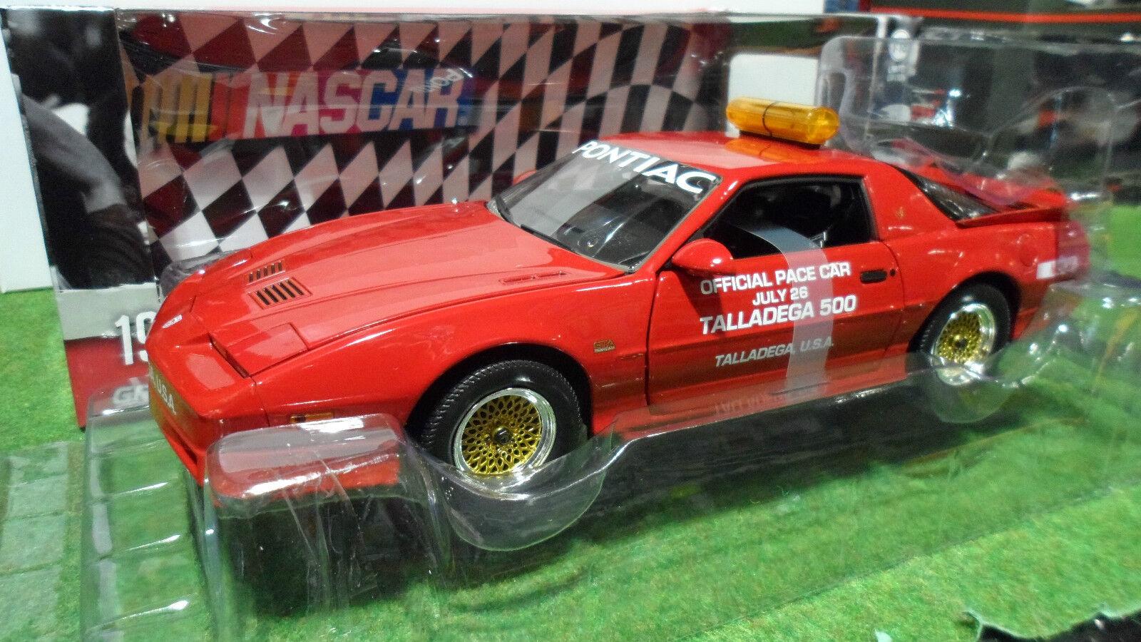 PONTIAC GTA TailleDEGA 500 Pace Car NASCAR 1987 au 1 18 vertLIGHT 12859 voiture