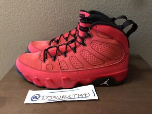 timeless design 42f21 1258b Details about Size 14 Air Jordan Retro 9 Motorboat Jones Red Black White