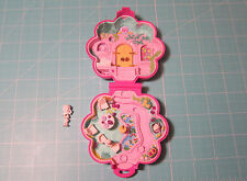 1990 Vintage Polly Pocket Polly's Garden Surprise with Statue Figure- Partial