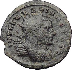 AURELIAN-receiving-wreath-from-Orbis-272AD-Ancient-Roman-Coin-Rare-i29952