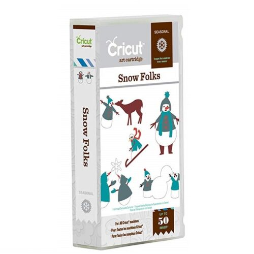 CRICUT® ART CARTRIDGE SNOW FOLKS NOW JUST £7.49 RRP £16.99 FREE UK P /& P
