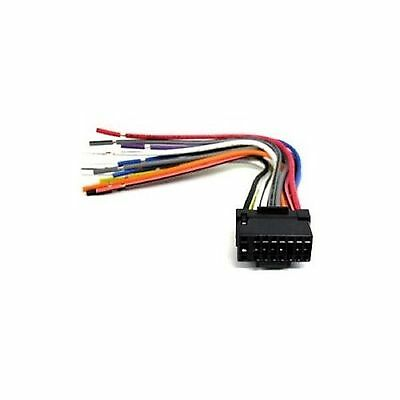 New 16 Pin AUTO STEREO WIRE HARNESS PLUG for ALPINE CDE-W235BT Player