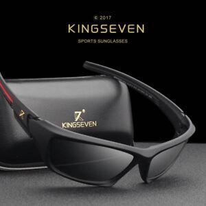 3673638d6260 Image is loading kingseven-brand-Classic-sunglasses-for-men-women-polarized-