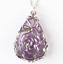 Natural-Quartz-Crystal-Stone-Teardrop-Flower-Healing-Gemstone-Pendant-Necklace thumbnail 11