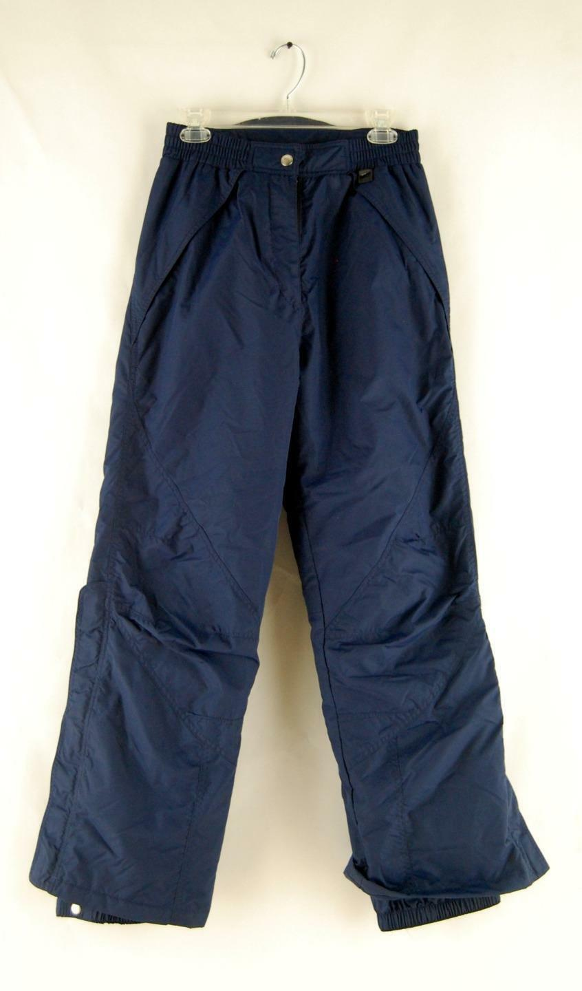 CB Sports bluee Woman's Pants Zipper Insulated Waterproof Ski Snowboard Size M
