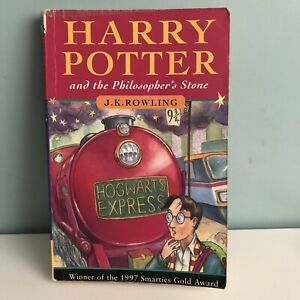 Harry-Potter-And-The-Philosopher-s-Stone-PB-Book-Rare-First-Edition-38th-Print
