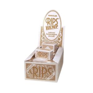 Rips-Cigarette-Rolling-Paper-HEMP-Regular-Multilisting-2-Full-Boxes-Sealed