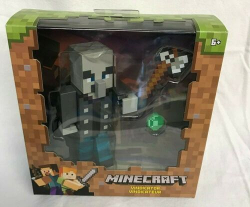 "Minecraft 6/"" Action Figure Vindicator Mattel FVG23 ~ neuf et non ouvert ~"