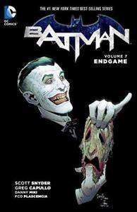 Batman-TP-Vol-7-Endgame-by-Snyder-Scott-NEW-Book-FREE-amp-Paper