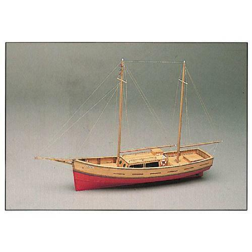 Mantua modellllerler Capri båt träen modellllerler Kit 701