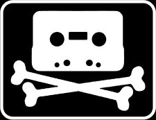 Pirate Bay hacked tape copy bumper sticker