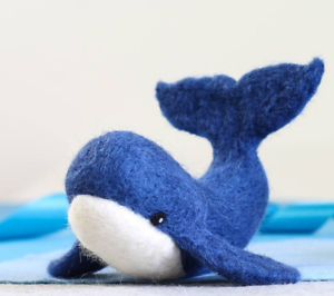 Whale-Needle-Felting-Kit-Craft-Kit-for-Beginners