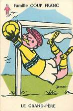SPORT FOOTBALL Gardien de but Goalkeeper 50s PLAYING CARD CARTE A JOUER