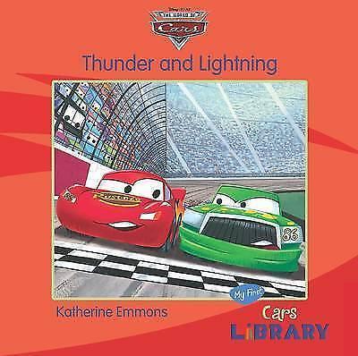 "Disney Pixar ""Cars"": Thunder and Lightning, , Very Good Book"