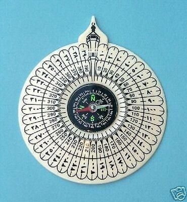 Wholesale Camping Hiking Islam Muslim Job Lot Compass Key ring Chain Pocket New