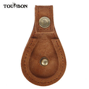Tourbon-Leather-Gun-Barrel-Rest-Toe-Shoes-Protector-Pad-Game-Pigeon-Shooting