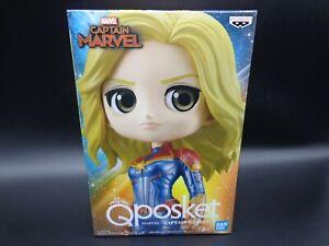 Banpresto Q Posket qposket Marvel Figure Captain Marvel B Special Color BANDAI