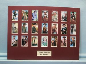 Classic-Western-TV-Shows-depicting-the-stars-of-21-Different-Western-Shows