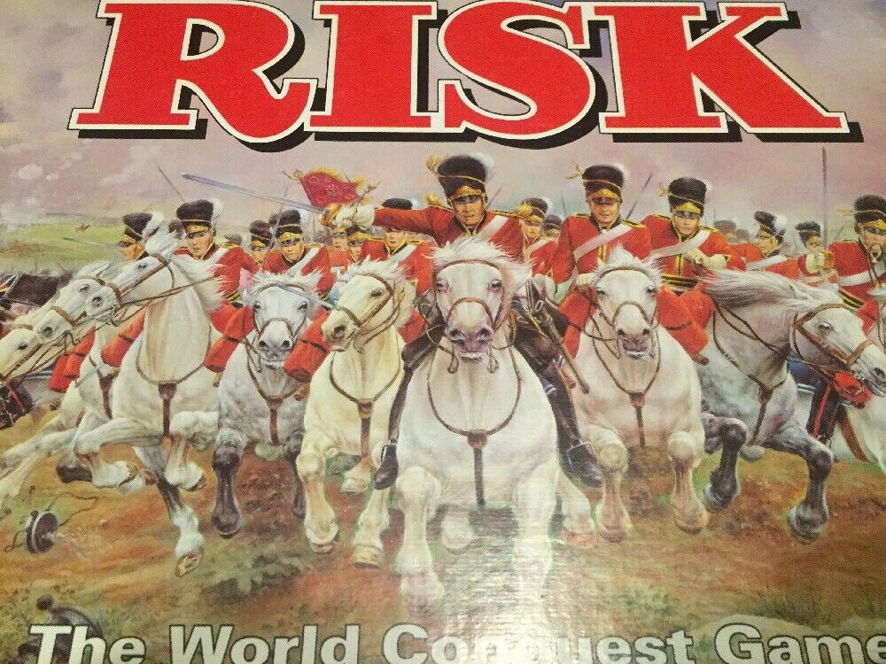 Risk The World Conquest Game By Parker 1992