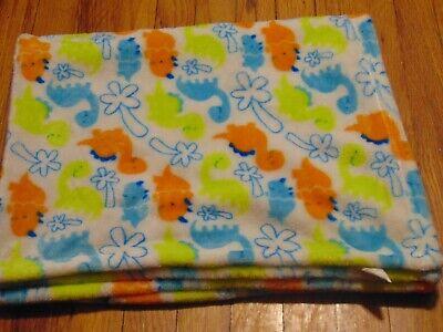 Swiggles Dinosaur Security Blanket Lovey Palm Tree Lux Luxe Fleece NEW RETIRED