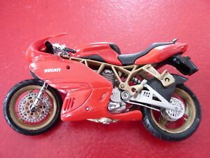 Ducati-PVC-4-039-039-Motorcycle-Playing-Toy-Stand-is-broken