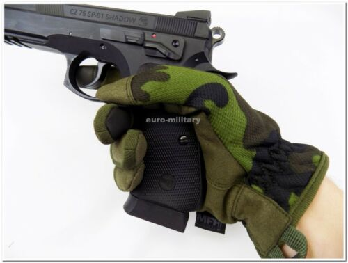 Professional Lightweight Tactical Military Gloves M95 Czech Army Camo New
