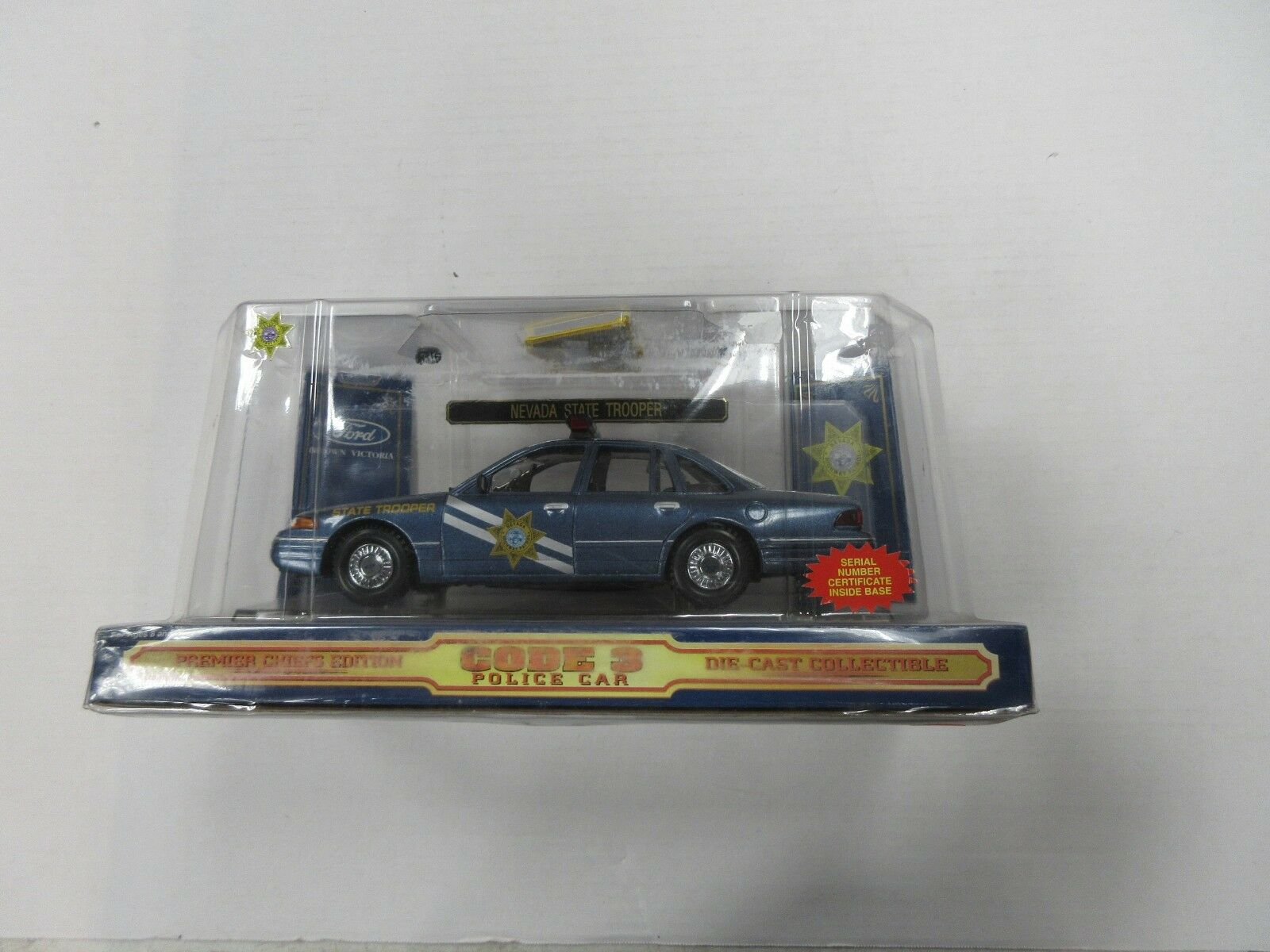 CODE 3 LAS VEGAS POLICE CAR 1 24 SCALE SEALED