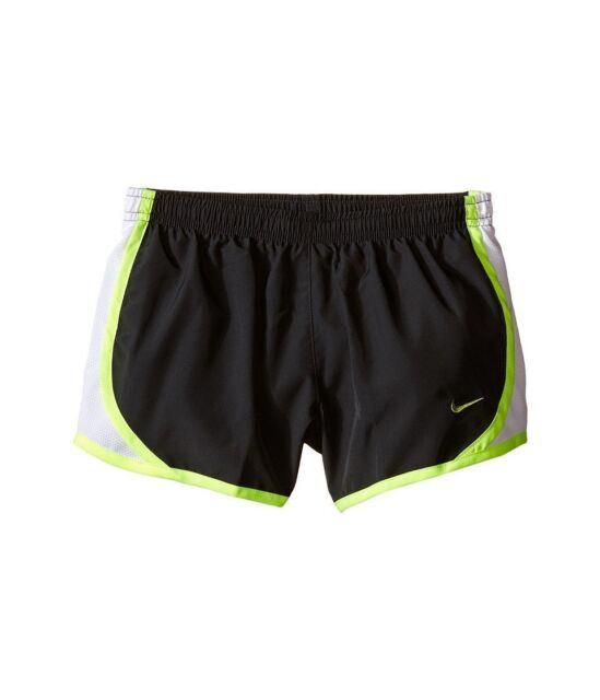 fe8ff7ada Nike Girls Kids XL Tempo Running Shorts Youth Dri Fit Anthracite ...