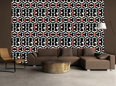 Ethnic Pattern Wallpaper Art Wall Mural Woven Self Adhesive Modern Decor T46 Ebay