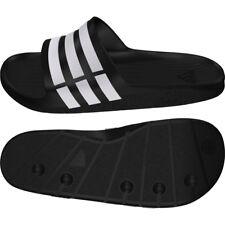 790f5a08f94e8c adidas Duramo Mens Sliders Flip Flops Sandals Pool Beach Shoes Slides shower