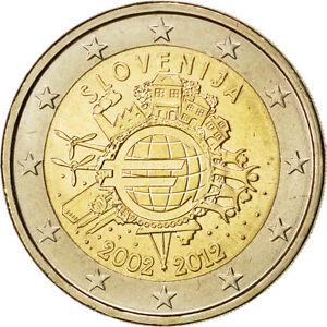 84980-Slovenie-2-Euro-10-ans-de-l-039-Euro-2012