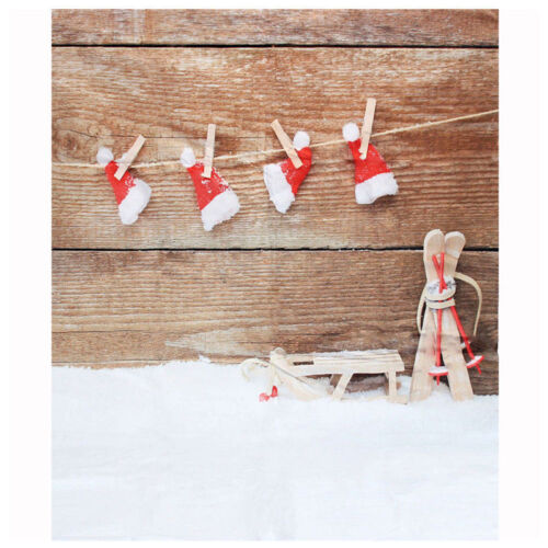 Vinilo Tema de Navidad Telon de fondo photography Fondo de la foto 1.5X2.1M Y1B2